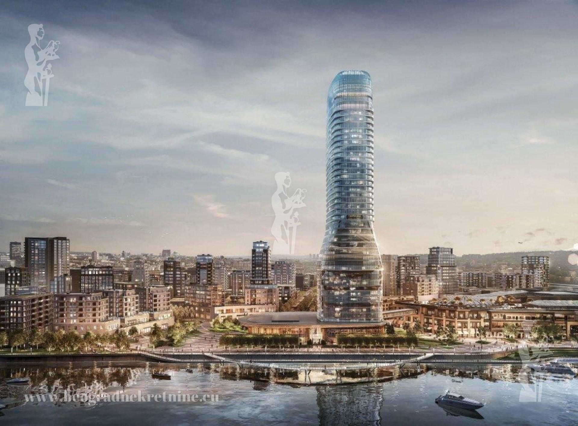 Belgrade Waterfront Kula Beograd 3 0 91m2